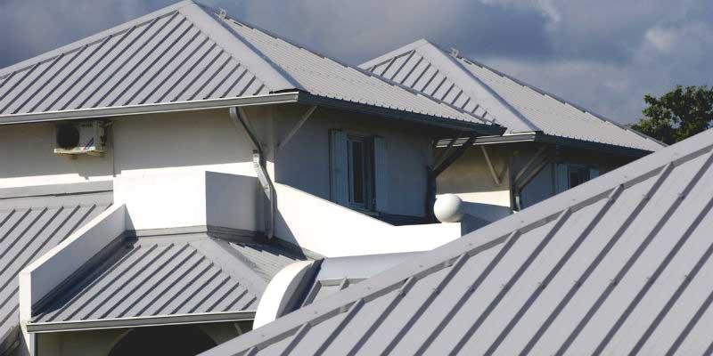 Метален покрив