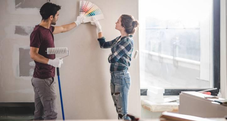 Боядисване на дома