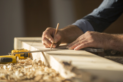 длъжности на дърводелеца