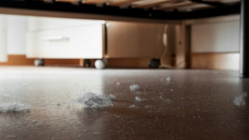 замърсена подова настилка