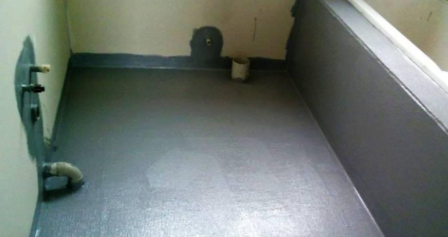 Изолация на баня против влага