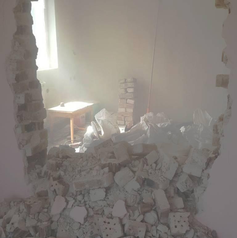 Ефикасно къртене при събаряне на стени