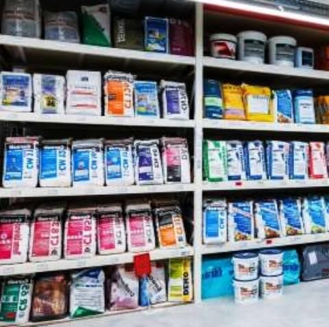 Видове строителни материали в магазини
